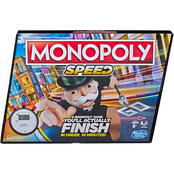Hasbro Gaming Monopoly Speed Board Game
