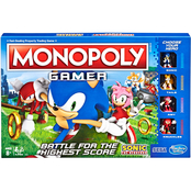 Hasbro Monopoly Gamer Sonic the Hedgehog Edition Boardgame