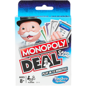 Hasbro Monopoly Brand Deal Card Game