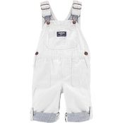 OshKosh B'gosh Infant Boys Convertible Canvas Overalls