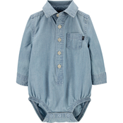 Oshkosh B'gosh Infant Boys Button Front Bodysuit