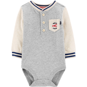 OshKosh B'gosh Infant Boys Great Catch Henley Bodysuit