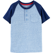OshKosh B'gosh Toddler Boys Colorblock Pocket Tee