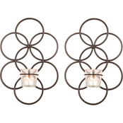 San Miguel Tunis Wall Sconce 2 pc. Set