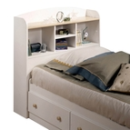 South Shore Shaker Twin Bookcase Headboard