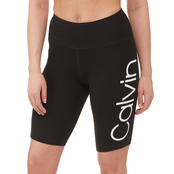 Calvin Klein Performance Logo High Waist Bike Shorts