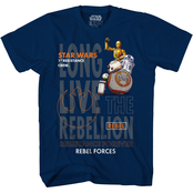 Star Wars Boys Resistance and Rebellion Droids Tee