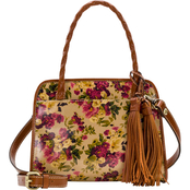 Patricia Nash Antique Rose Paris Satchel