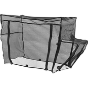Creative Outdoor Bug Net Accessory for Push and Pull Wagon, Black