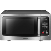 Toshiba 1.6 cu. ft. Stainless Steel Microwave with Inverter Technology