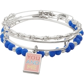Alex and Ani Color Infusion Me and You Bracelets, Set of 3