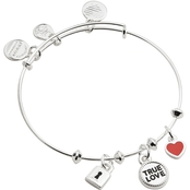 Alex and Ani True Love Trio Charm Bangle