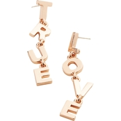 Alex and Ani True Love Earrings