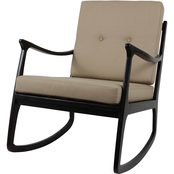 Decor Therapy Rocking Arm Chair