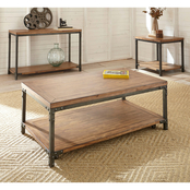 Steve Silver Lantana Collection Cocktail Table with Caster