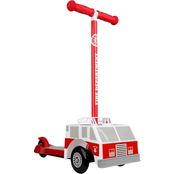 Dimensions 3D Firetruck Scooter