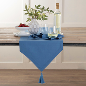 Martex Color Solutions Table Linens Tassel Table Runner