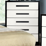 Furniture of America Rutger 5 Drawer Chest