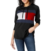 Tommy Hilfiger Sport Flag Colorblock Hooded Tee