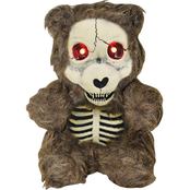 Gemmy 7 in. Skull Bear Prop