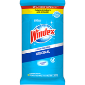Windex Original Glass Clean Wipes, 38 ct.