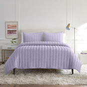 WestPoint Home Lemon Tree Petra Lilac Quilt Set