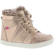 Mia Grade School Girls Dreamy Hi Top Sneakers