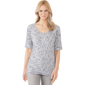 Passports Missy Multi Directional Knit Top