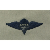 Air Force Pararigger Badge, Subdued Sew-on (ABU)