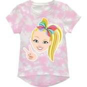 Nickelodeon Girls JoJo Siwa Tie Dye High Low Tee