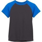 Buzz Cuts Boys Jersey Raglan Short Sleeve Tee
