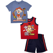PAW Patrol Infant Boys 3 pc. Marshall Shorts Set