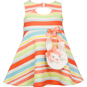 Bonnie Jean Infant Girls Bunny Dress