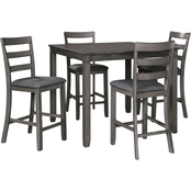 Signature Design by Ashley Bridson 5 pc. Square Counter Dining Set