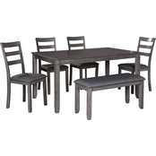Signature Design by Ashley Bridson 6 pc. Rectangular Dining Set with Bench