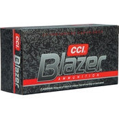 CCI Blazer .357 Mag 158 Gr. Jacketed Hollow Point, 50 Rounds