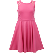 Bonnie Jean Girls Pink Skater Dress