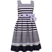 Bonnie Jean Girls Navy Sailor Dress