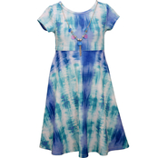 Bonnie Jean Tie Dye Knit Dress