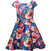 Bonnie Jean Girls Print Skater Dress