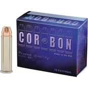 CorBon .357 Mag 125 Gr. Self-Defense JHP, 20 Rounds