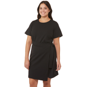 Michael Kors Plus Size T-Shirt Wrap Dress