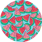 Just for Beach Watermelons Beach Towel