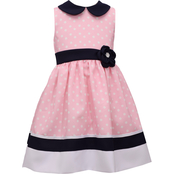 Bonnie Jean Girls Peter Pan Dot Dress