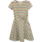 Bonnie Jean Little Girls Tie Side Knit Dress