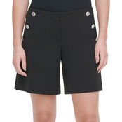 Calvin Klein Shorts with Button Detail