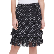 Calvin Klein Ruffle Bottom Skirt
