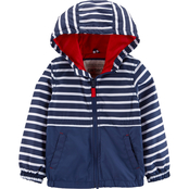 Carter's Infant Boys Fleece Lined Colorblock Midweight Jacket