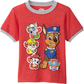 Nickelodeon Toddler Boys Paw Patrol Ringer Tee