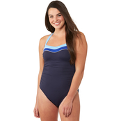 Nautica Colorblock Halter 1 pc. Swimsuit